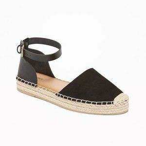 Old Navy 10 Espadrille Braided Sandals Shoes Flats